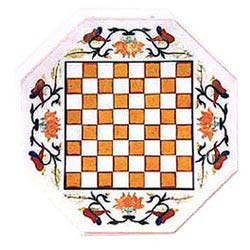 Normal White Marble Inlay Design