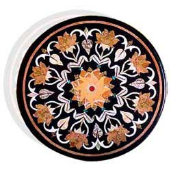 Round-Circular Inlay Table Top
