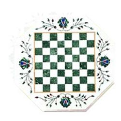 Semi Precious Chess Design Table Top