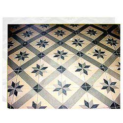 Traditional Marble Inlay Flooring